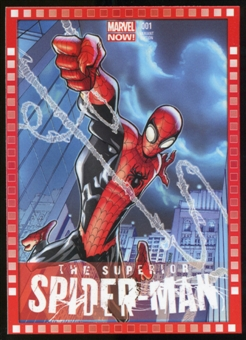 2014 Upper Deck Marvel Now Variant Covers #119HR The Superior SpiderMan #1