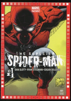 2014 Upper Deck Marvel Now Variant Covers #119JQ The Superior SpiderMan #1