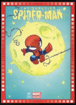 2014 Upper Deck Marvel Now Variant Covers #119SY The Superior SpiderMan #1