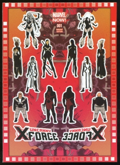 2014 Upper Deck Marvel Now Variant Covers #120DE Uncanny XForce #1