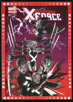 2014 Upper Deck Marvel Now Variant Covers #120RG Uncanny XForce #1