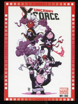 2014 Upper Deck Marvel Now Variant Covers #120SY Uncanny XForce #1
