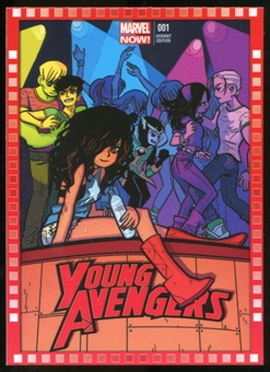 2014 Upper Deck Marvel Now Variant Covers #121BO Young Avengers #1