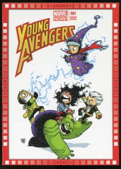 2014 Upper Deck Marvel Now Variant Covers #121SY Young Avengers #1