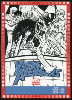 2014 Upper Deck Marvel Now Variant Covers #121VA Young Avengers #1