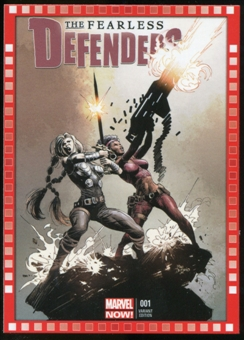 2014 Upper Deck Marvel Now Variant Covers #122MD The Fearless Defenders #1