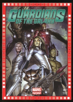 2014 Upper Deck Marvel Now Variant Covers #123AG Guardians of the Galaxy #1