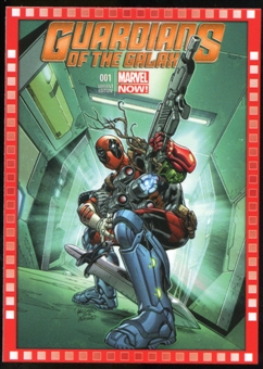 2014 Upper Deck Marvel Now Variant Covers #123DF Guardians of the Galaxy #1
