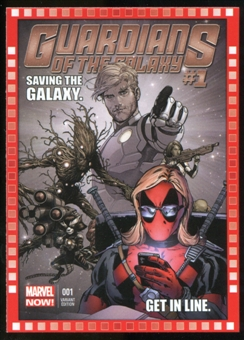 2014 Upper Deck Marvel Now Variant Covers #123DP Guardians of the Galaxy #1