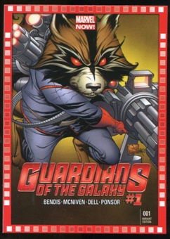 2014 Upper Deck Marvel Now Variant Covers #123JQ Guardians of the Galaxy #1