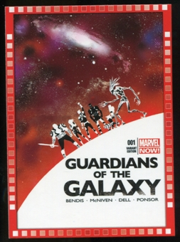 2014 Upper Deck Marvel Now Variant Covers #123MA Guardians of the Galaxy #1