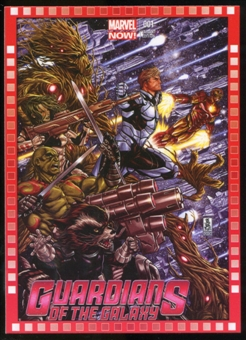 2014 Upper Deck Marvel Now Variant Covers #123MB Guardians of the Galaxy #1