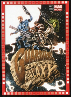 2014 Upper Deck Marvel Now Variant Covers #123MD Guardians of the Galaxy #1
