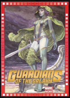 2014 Upper Deck Marvel Now Variant Covers #123MM Guardians of the Galaxy #1