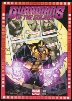 2014 Upper Deck Marvel Now Variant Covers #123PH Guardians of the Galaxy #1