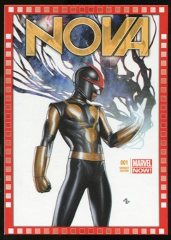 2014 Upper Deck Marvel Now Variant Covers #124FP Nova #1