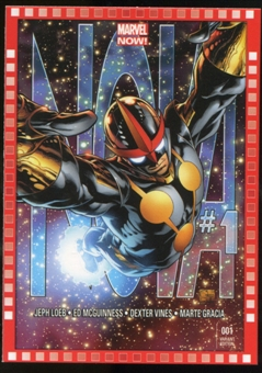 2014 Upper Deck Marvel Now Variant Covers #124JQ Nova #1