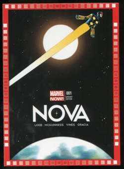 2014 Upper Deck Marvel Now Variant Covers #124MA Nova #1