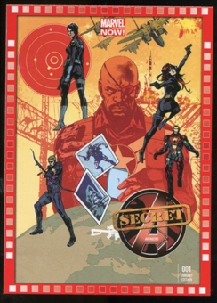2014 Upper Deck Marvel Now Variant Covers #125HA Secret Avengers #1