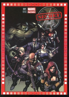 2014 Upper Deck Marvel Now Variant Covers #125LY Secret Avengers #1