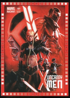 2014 Upper Deck Marvel Now Variant Covers #126GO Uncanny XMen #1