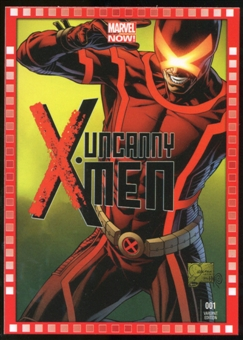 2014 Upper Deck Marvel Now Variant Covers #126JQ Uncanny XMen #1