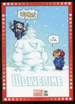 2014 Upper Deck Marvel Now Variant Covers #127SY Wolverine #1
