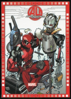 2014 Upper Deck Marvel Now Variant Covers #129HA Age of Ultron