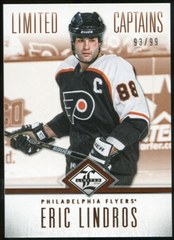 2012/13 Panini Limited #182 Eric Lindros C /99