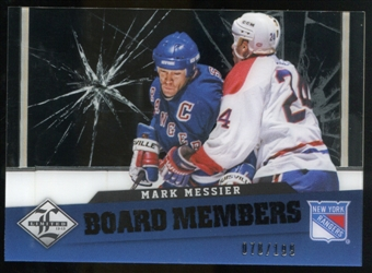 2012/13 Panini Limited Board Members #39 Mark Messier /199