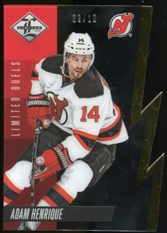 2012/13 Panini Limited Duels Gold #LD13A Adam Henrique 9/10