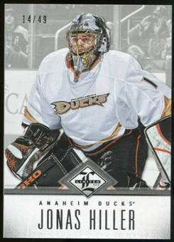 2012/13 Panini Limited Silver #123 Jonas Hiller /49