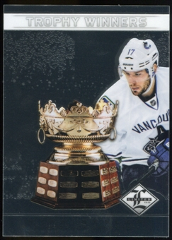 2012/13 Panini Limited Trophy Winners #TW27 Ryan Kesler /199