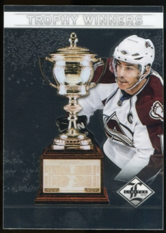 2012/13 Panini Limited Trophy Winners #TW36 Joe Sakic /199