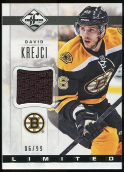 2012/13 Panini Limited Materials #LJKR David Krejci /99