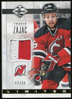 2012/13 Panini Limited Materials Prime #LJTZ Travis Zajac /25