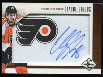 2012/13 Panini Limited Monikers #MCG Claude Giroux Autograph /99