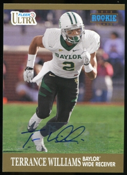 2013 Upper Deck Fleer Retro Ultra Autographs #75 Terrance Williams D Autograph