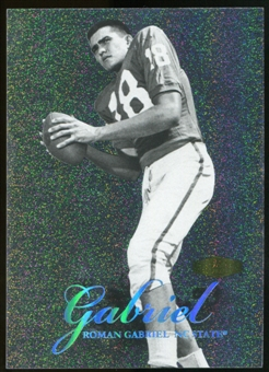 2013 Upper Deck Fleer Retro Flair Showcase Legacy Collection #LC19 Roman Gabriel /150