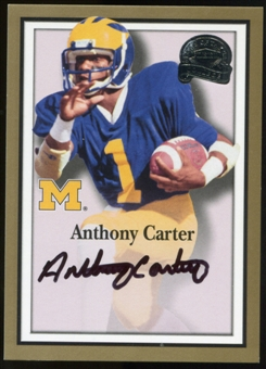 2013 Upper Deck Fleer Retro Fleer Greats of the Game Autographs #AC58 Anthony Carter B Autograph
