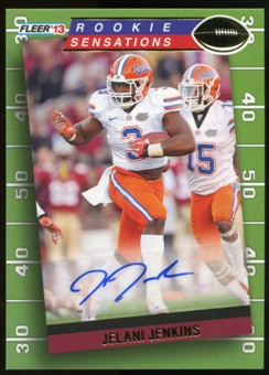2013 Upper Deck Fleer Retro Fleer Rookie Sensations Autographs #RS1 Jelani Jenkins F Autograph
