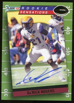 2013 Upper Deck Fleer Retro Fleer Rookie Sensations Autographs #RS24 Da'Rick Rogers F Autograph