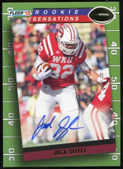 2013 Upper Deck Fleer Retro Fleer Rookie Sensations Autographs #RS41 Jack Doyle D Autograph