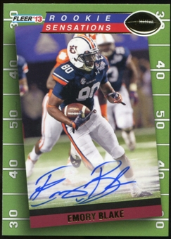 2013 Upper Deck Fleer Retro Fleer Rookie Sensations Autographs #RS93 Emory Blake F Autograph