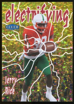2013 Upper Deck Fleer Retro Fleer Tradition Electrifying #12 Jerry Rice