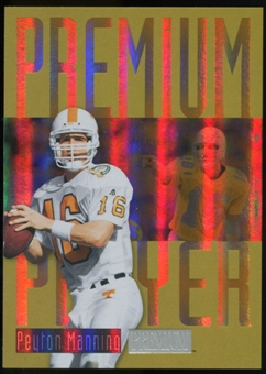 2013 Upper Deck Fleer Retro Skybox Premium Players #PP1 Peyton Manning