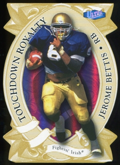 2013 Upper Deck Fleer Retro Ultra Touchdown Royalty #TK6 Jerome Bettis