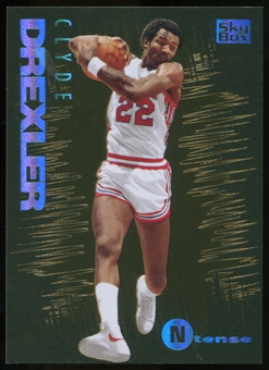 2013/14 Upper Deck Fleer Retro '94-95 SkyBox Emotion N-Tense #3 Clyde Drexler