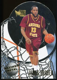 2013/14 Upper Deck Fleer Retro '95-96 Metal Universe Maximum Metal #20 James Harden