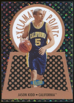2013/14 Upper Deck Fleer Retro '98 Ultra Exclamation Points #9EP Jason Kidd